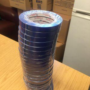 Bag Neck Sealing Tapes Black Colour 12mm x 66m