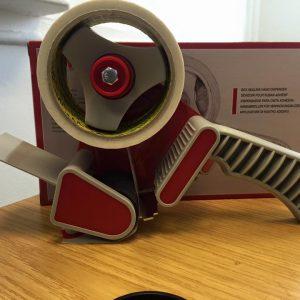 Sellotape parcel packaging tape gum dispenser